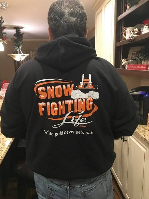 Snow Fighting Life Hoodie