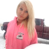 Snow Fighter Hoodie-Safety Pink