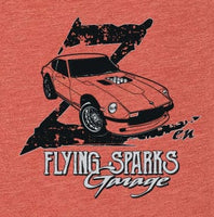 Woman's Flying Sparks Zen Tee