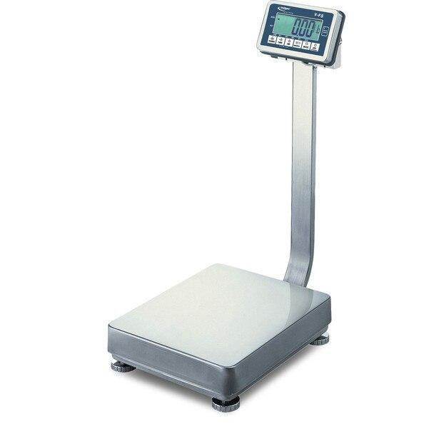 Intelligent Weighing V-FS-132 Bench Scale, 132 lb x 0.02 lb