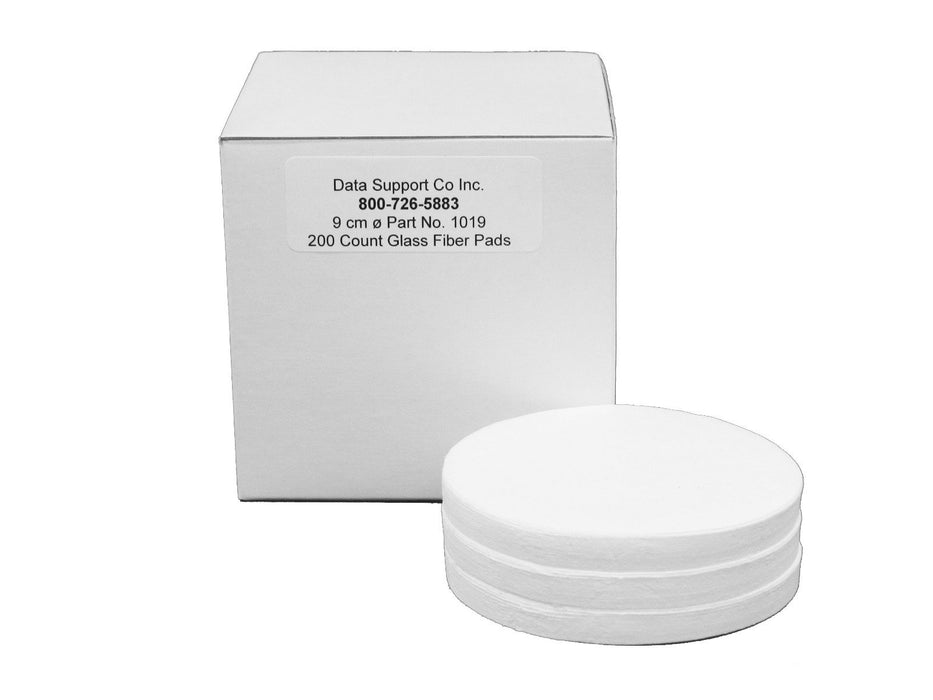 DSC Glass Fiber Sample Pads 9.0 cm™ for Moisture Analyzers (CEM alternative) 400 pads