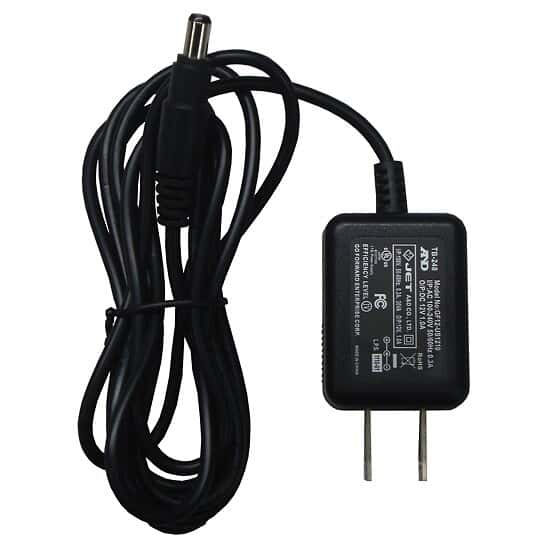 A&D TB:636 AC Adapter (120V) - Standard with unit