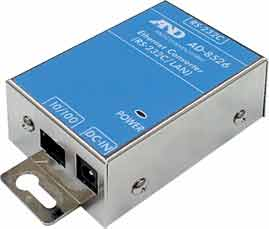 A&D AD-8526-9 Ethernet Adapter  D-Sub 9 with WinCT Plus