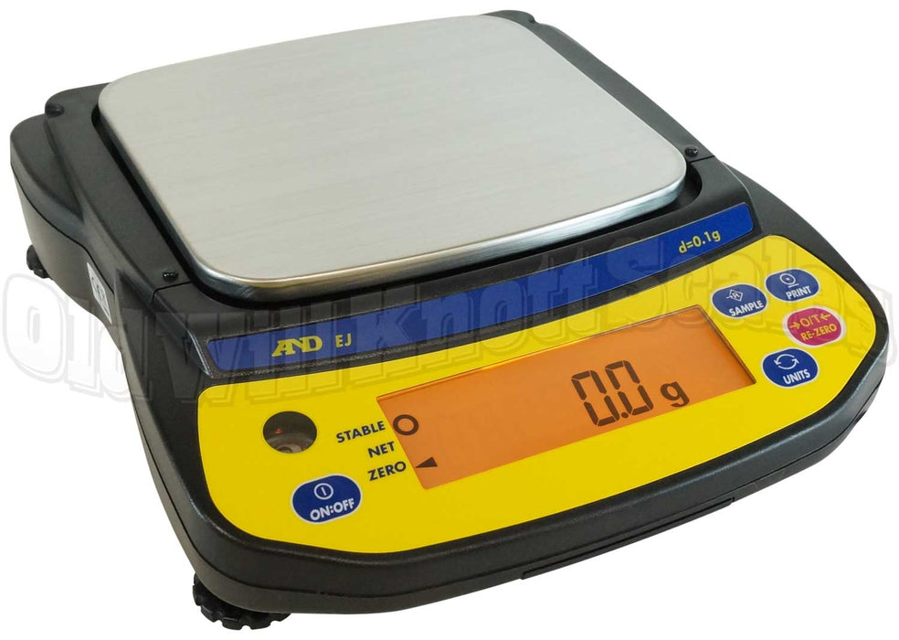 A&D EJ-1202 EJ Newton Series Portable Balances
