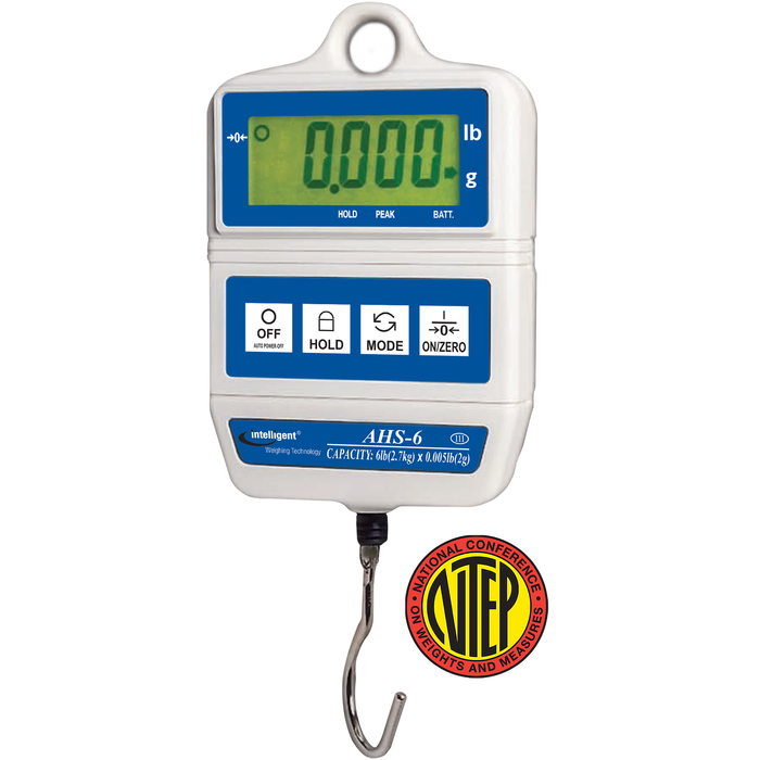 Intelligent Weighing AHS-6 AHS NTEP Digital Hanging Scale