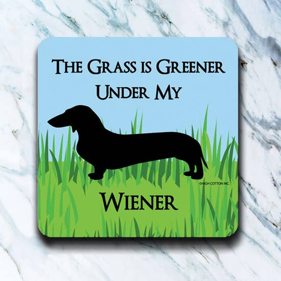 Grass Is Greener Coaster