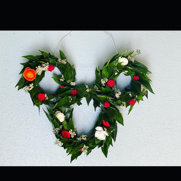 Mickey Mouse Floral Wreath