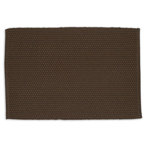 Coffee Bean Dobby Stripe Placemat