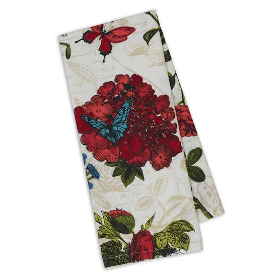 Botanical Blooms Printed Dishtowel