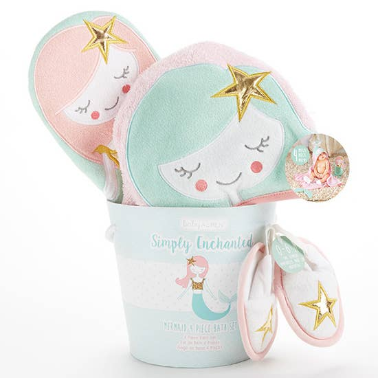 Simply Enchanted Mermaid 4 Piece Set