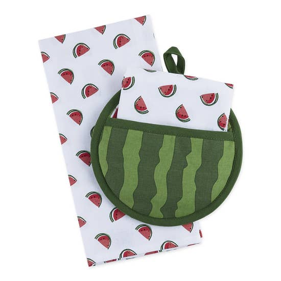 Watermelon Potholder Gift Set