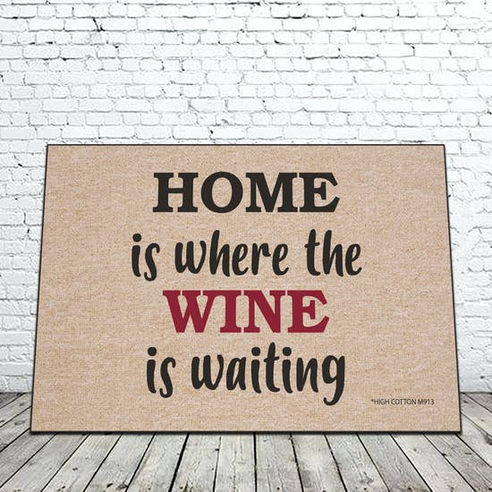 Where The Wine Is Mat