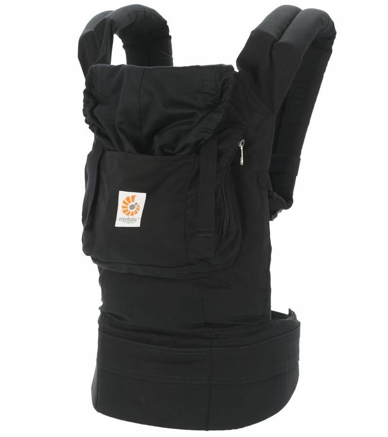 Ergobaby Organic Baby Carrier - Black - Healthy Horizons Breastfeeding Centers, Inc.