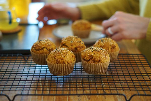 Blog posts Orange Muffins with Organic Turmeric Powder- Spicyorganic.com