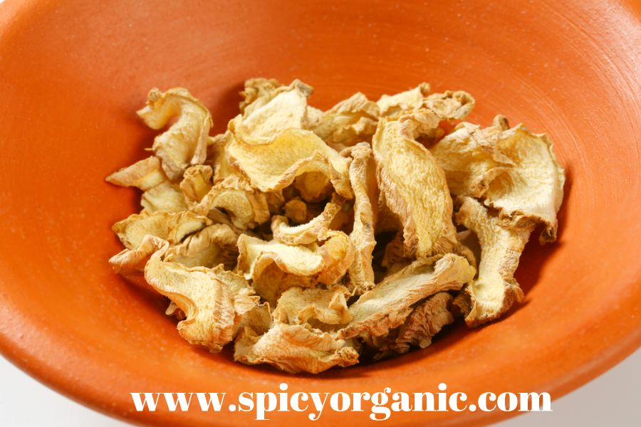 Using Dried Ginger Root- Spicy Organic