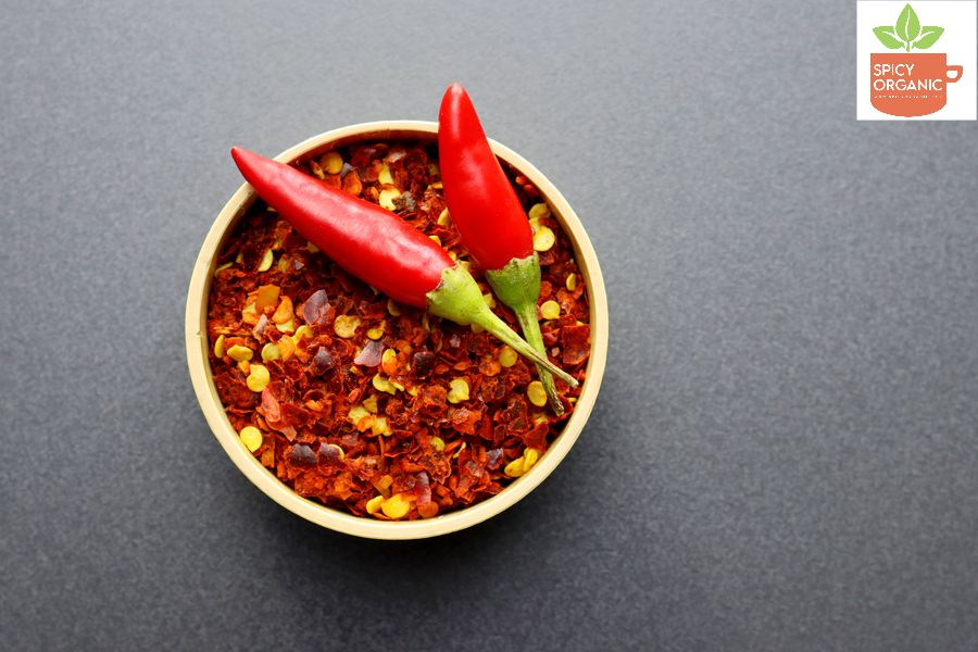 What are Organic Red Chilli Pepper Flakes used in?
