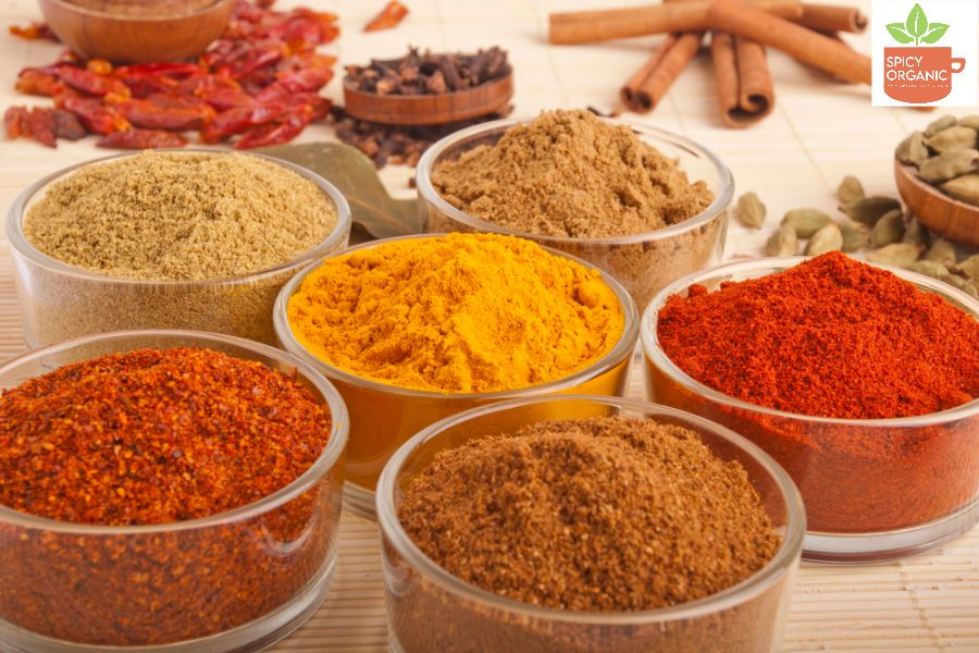 Organic Herbs and Spices- Spicy Organic.com