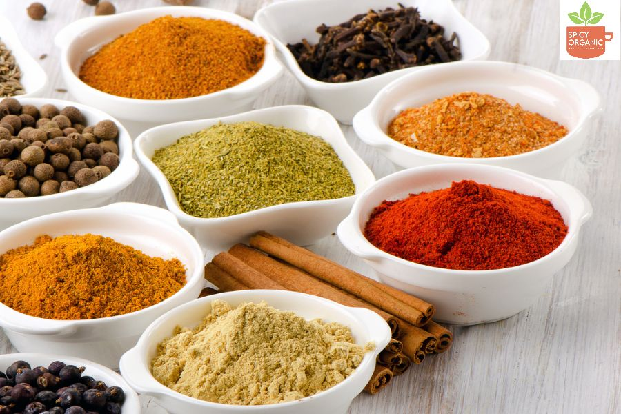 Organic Spices and Herbs- Spicy Organic