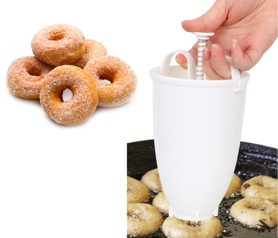 Donut Mould Portable Donut Maker Manual Waffle Dispenser