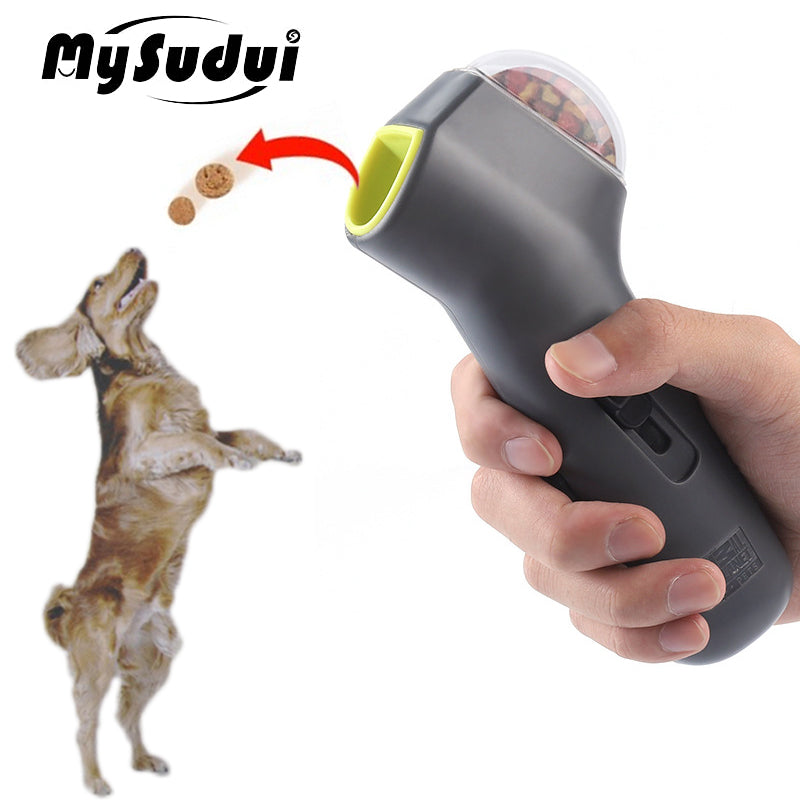 Dog Interactive Auto Food Thrower Toy