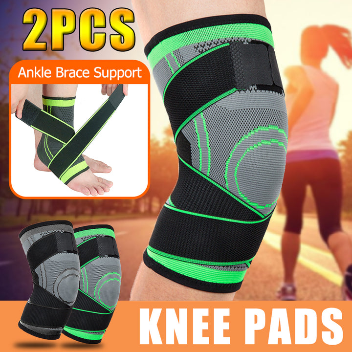 Sports Knee Support Running Fitness Knee Pads