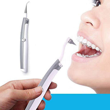 Electric Ultrasonic Sonic Pic Tooth Stain Eraser Dental Cleaning Scaler Tooth Pick
