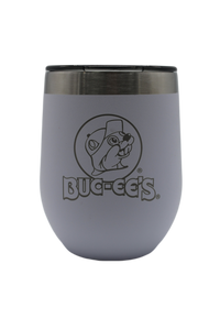 Small White Insulated Tumbler - 10oz