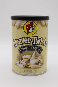 White Fudge Beaver Twists
