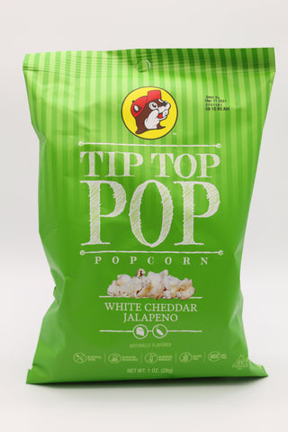 Tip Top Popcorn - White Jalapeno Cheddar - Small