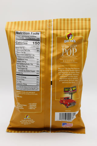 Tip Top Popcorn - Butter - Small