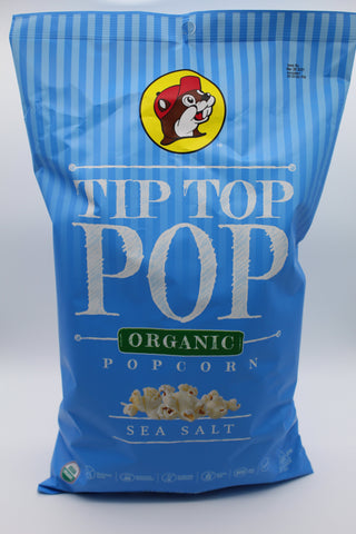 Tip Top Popcorn - Organic Sea Salt - Large