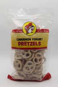 Cinnamon Yogurt Pretzels
