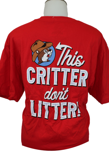 Youth This Critter Don't Litter Shirt