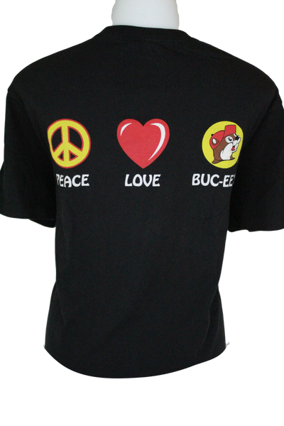 Youth Black Peace & Heart Shirt