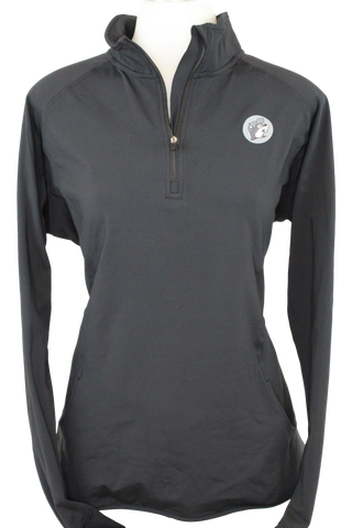 Black Athletic Pullover