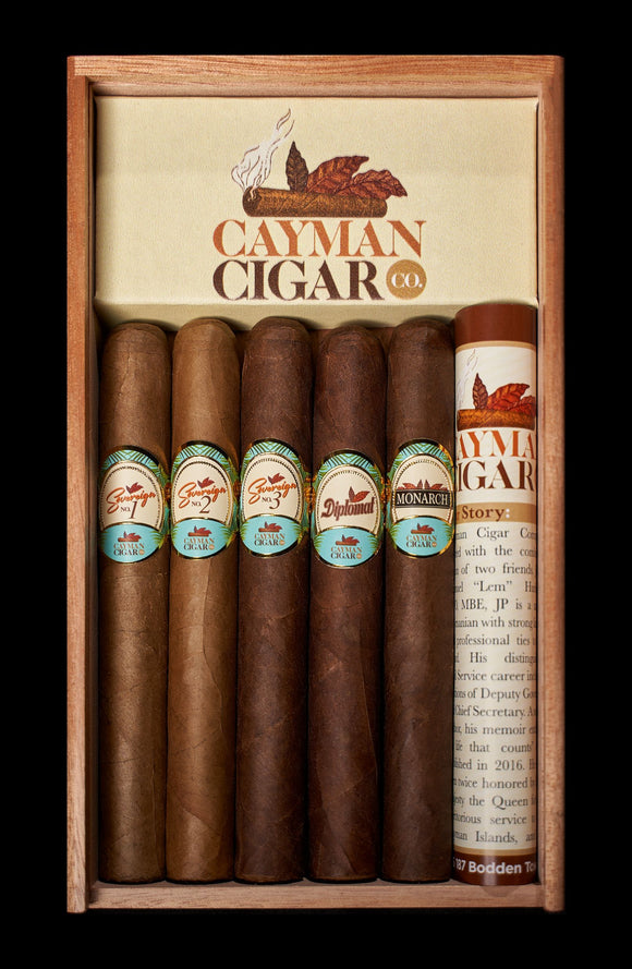 5 Pack Boxed Cigars