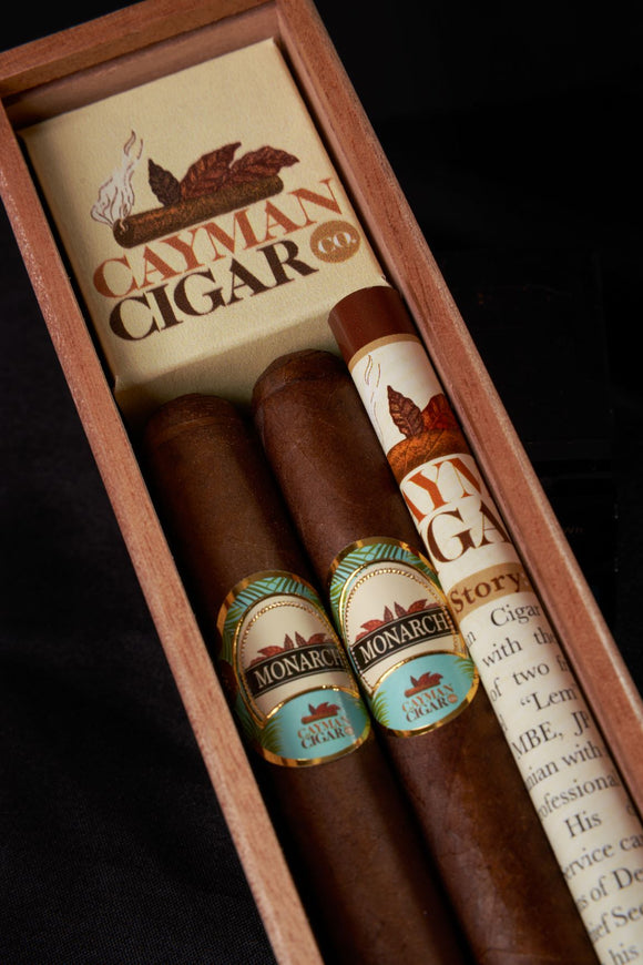2 Pack Boxed Cigars | Sovereign No. 3 Robusto