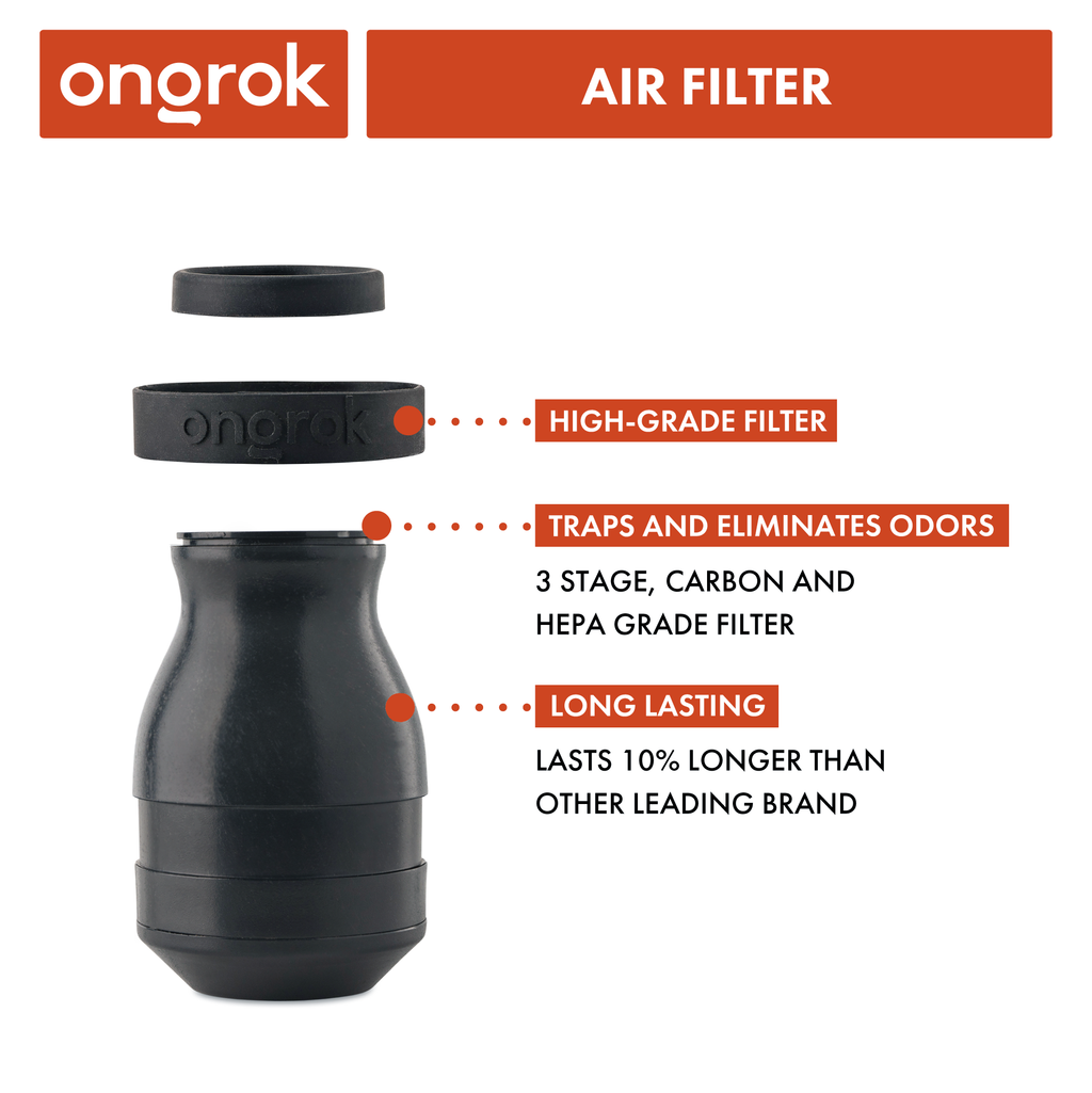 Plant-Based Degradable Air & Smoke Filter