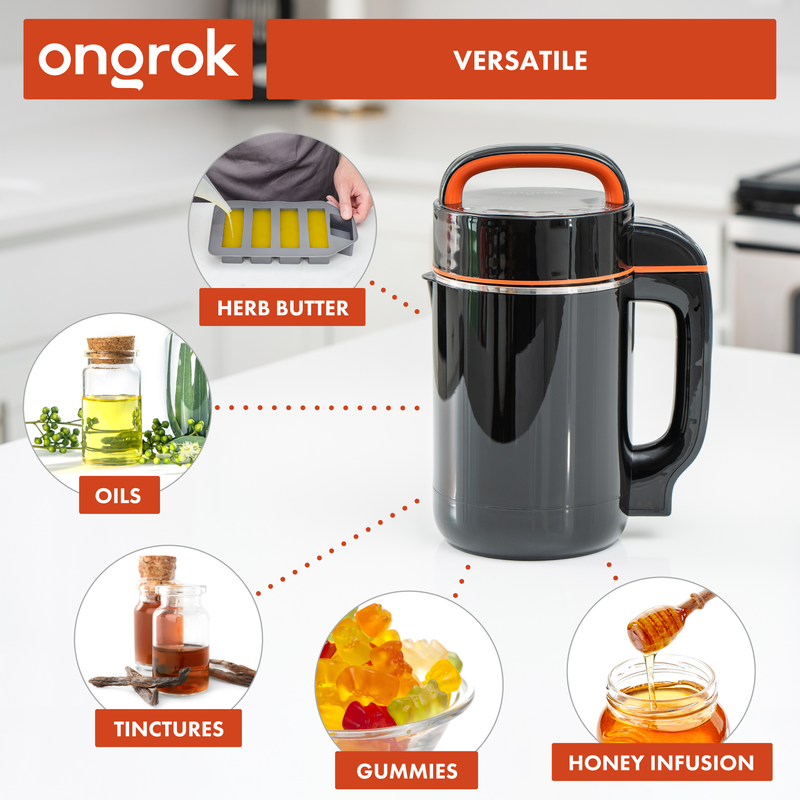 ONGROK Butter Maker | Botanical Infuser Machine for tinctures, gummies and oils