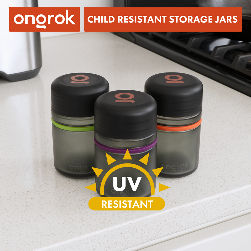 ONGROK Child Resistant 180ml Storage jar