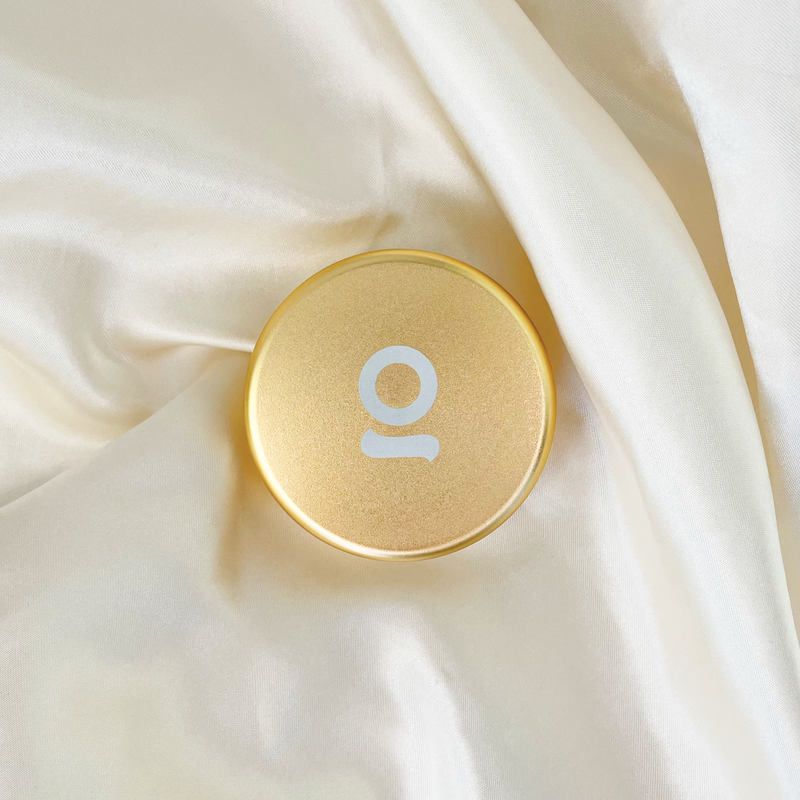 ONGROK Gold Smell-Proof Storage Puck