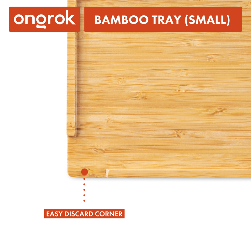 ONGROK small bamboo rolling tray