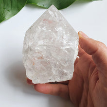Load image into Gallery viewer, Clear Quartz Point with Rainbows
