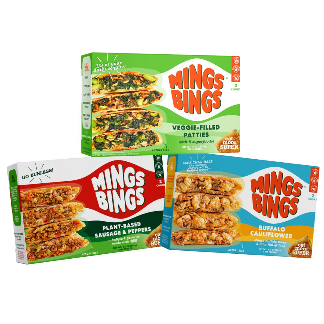 The MingsBings Variety Pack