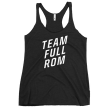 Load image into Gallery viewer, Team Full ROM - Women's Racerback Tank