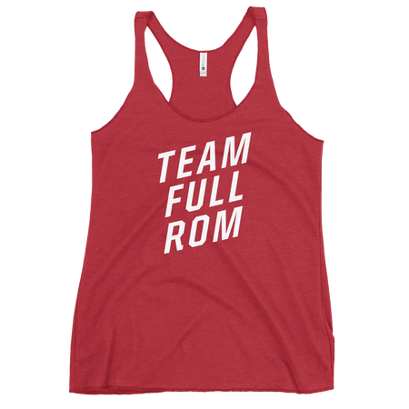 Team Full ROM - Women's Racerback Tank