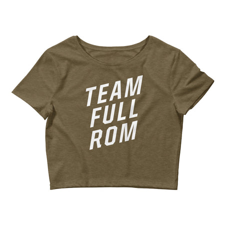 Team Full ROM - Women's Crop Top