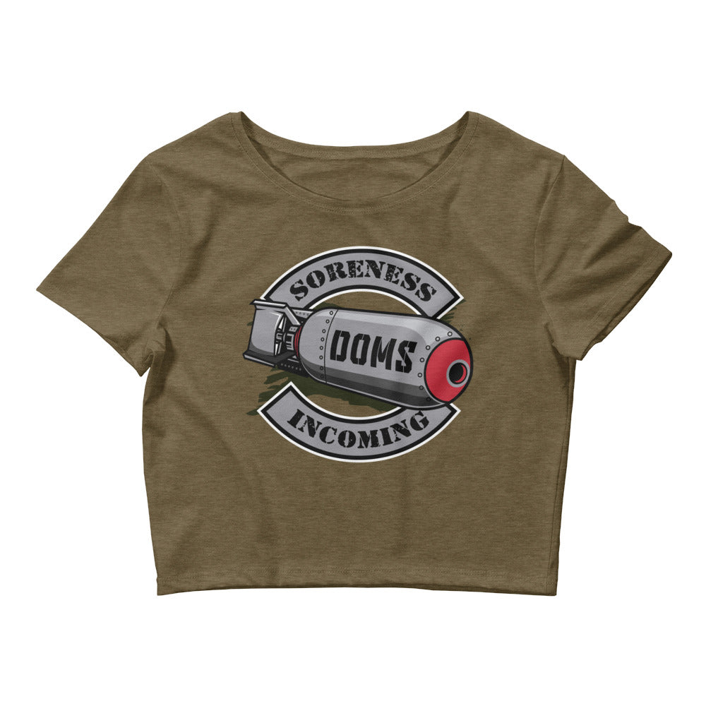 DOMS Incoming - Women's Crop Top