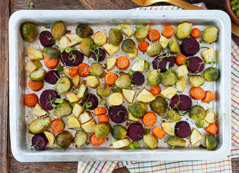 Roasted Fall Vegetable Salad Recipes for Fall