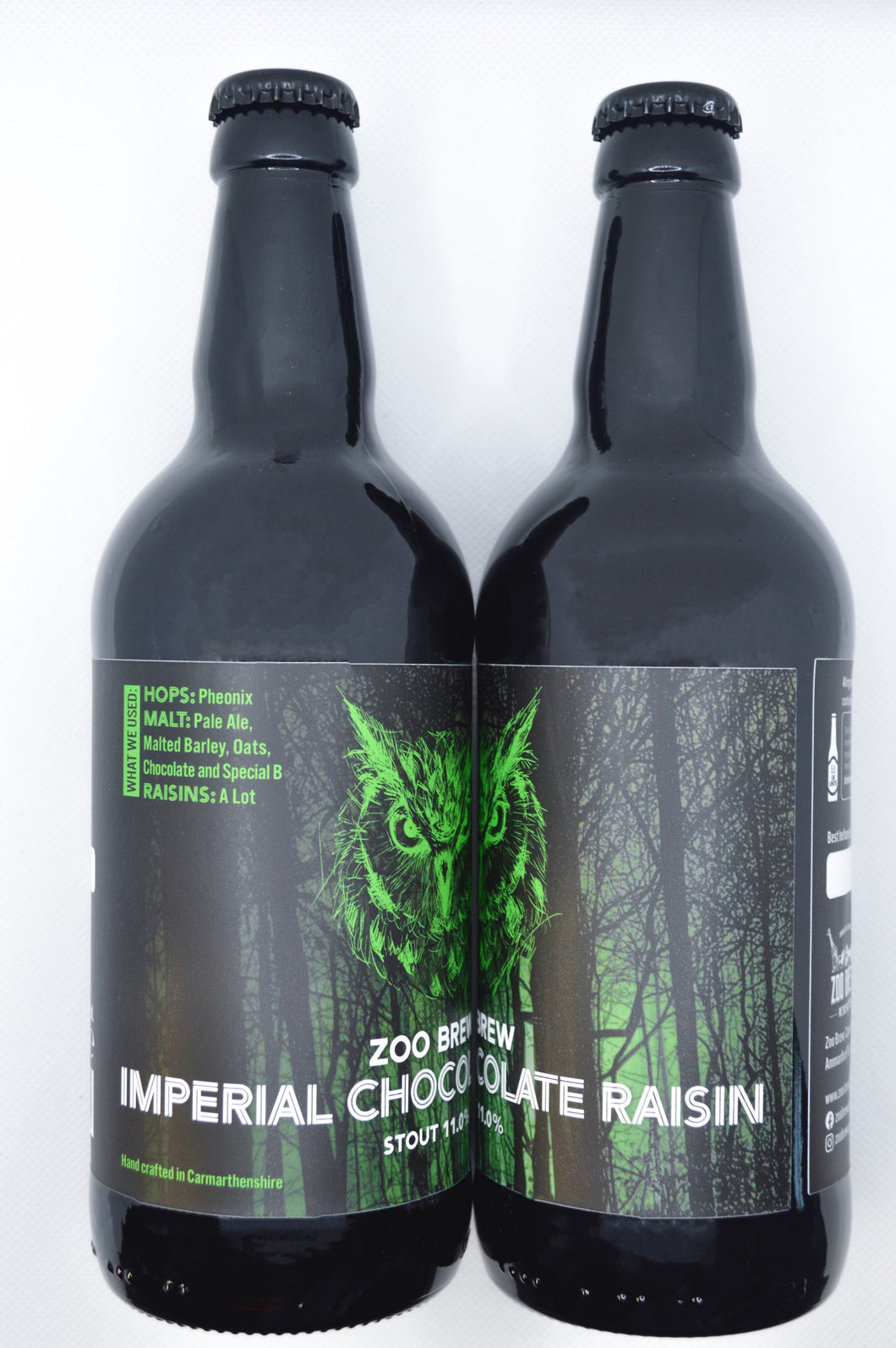 Imperial Chocolate and Raisin Stout - 500ml Bottle